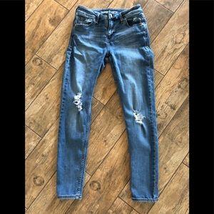 Women's Old Navy Midrise Rockstar Jeans 4